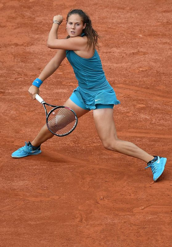 Daria Kasatkina – French Open Tennis Tournament in Paris 06/05/2018