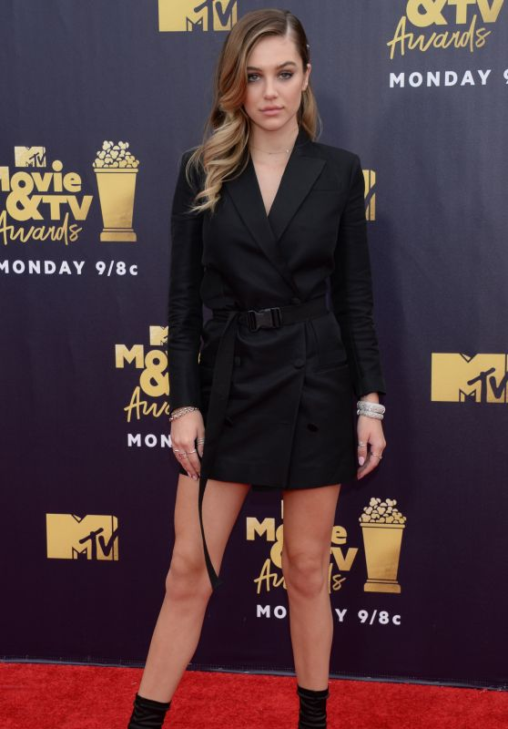 Delilah Belle Hamlin - 2018 MTV Movie And TV Awards in Santa Monica