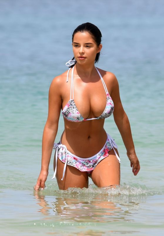 Demi Rose Hot in Bikini on Holiday in Cape Verde 06/13/2018