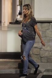 Denise Richards in Ripped Jeans - Out in Los Angeles 06/29/2018