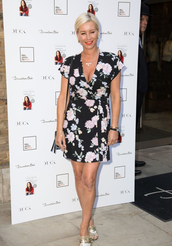"""Denise van Outen - """"Andrea McLean: Confessions of a Menopausal Woman"""" Book Launch Party in London"""