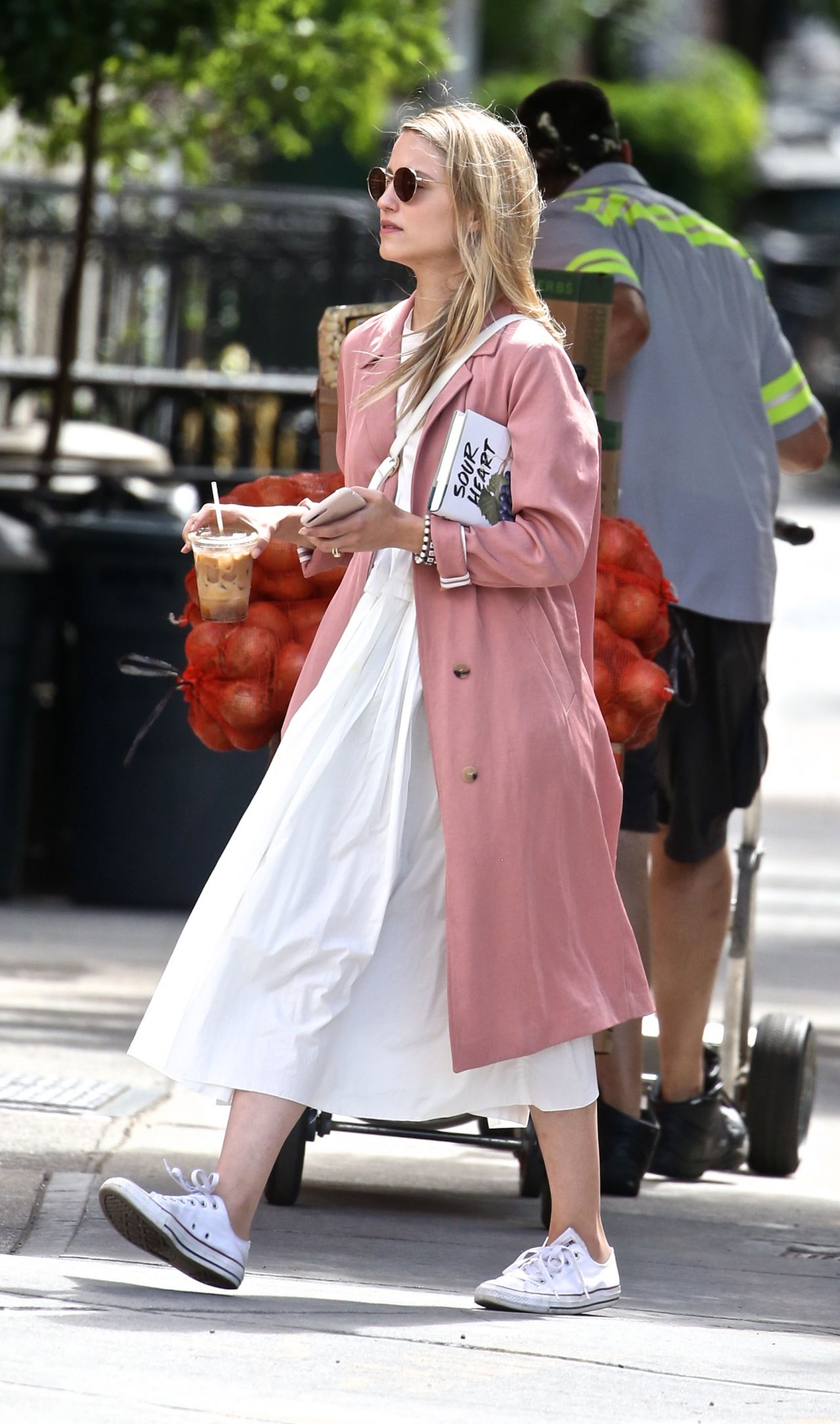 Dianna agron out in new york city new pictures