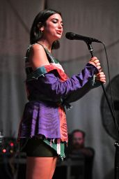 Dua Lipa - Performs During Hits 97.3 Sessions in Fort Lauderdale 06/11/2018