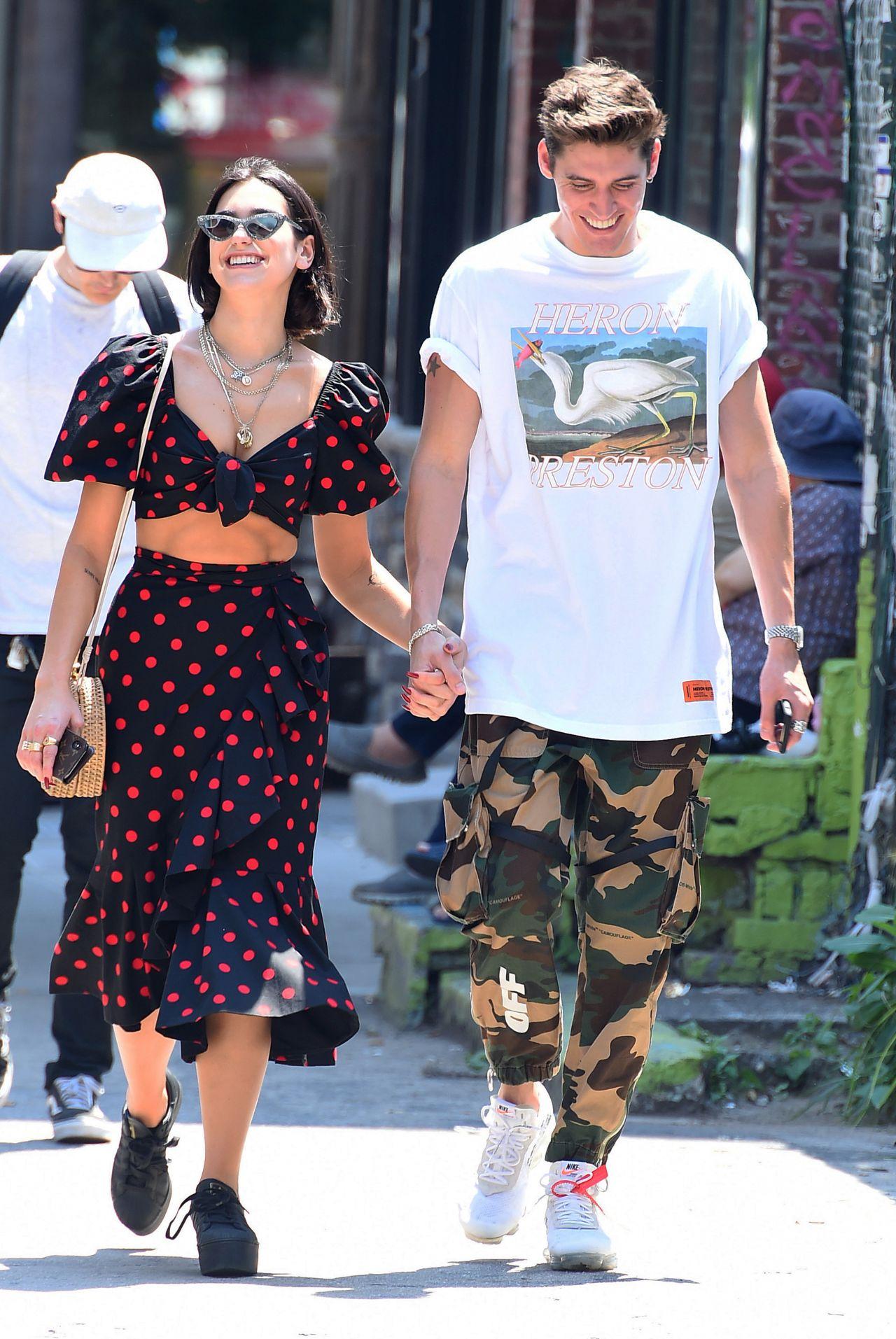 Dua Lipa With Her Boyfriend Isaac Carew In New York 06182018