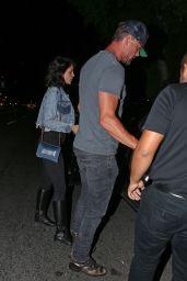 Eiza Gonzalez and Josh Duhamel at Antonio