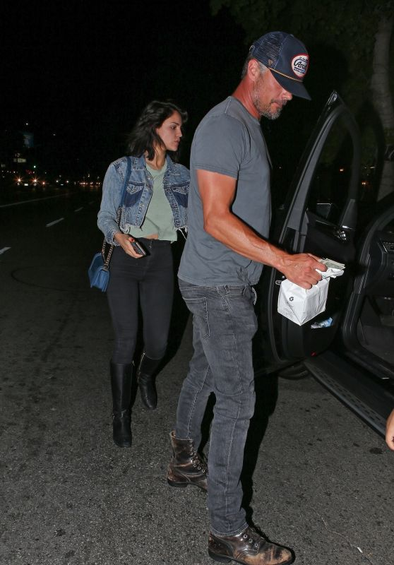 Eiza Gonzalez and Josh Duhamel at Antonio
