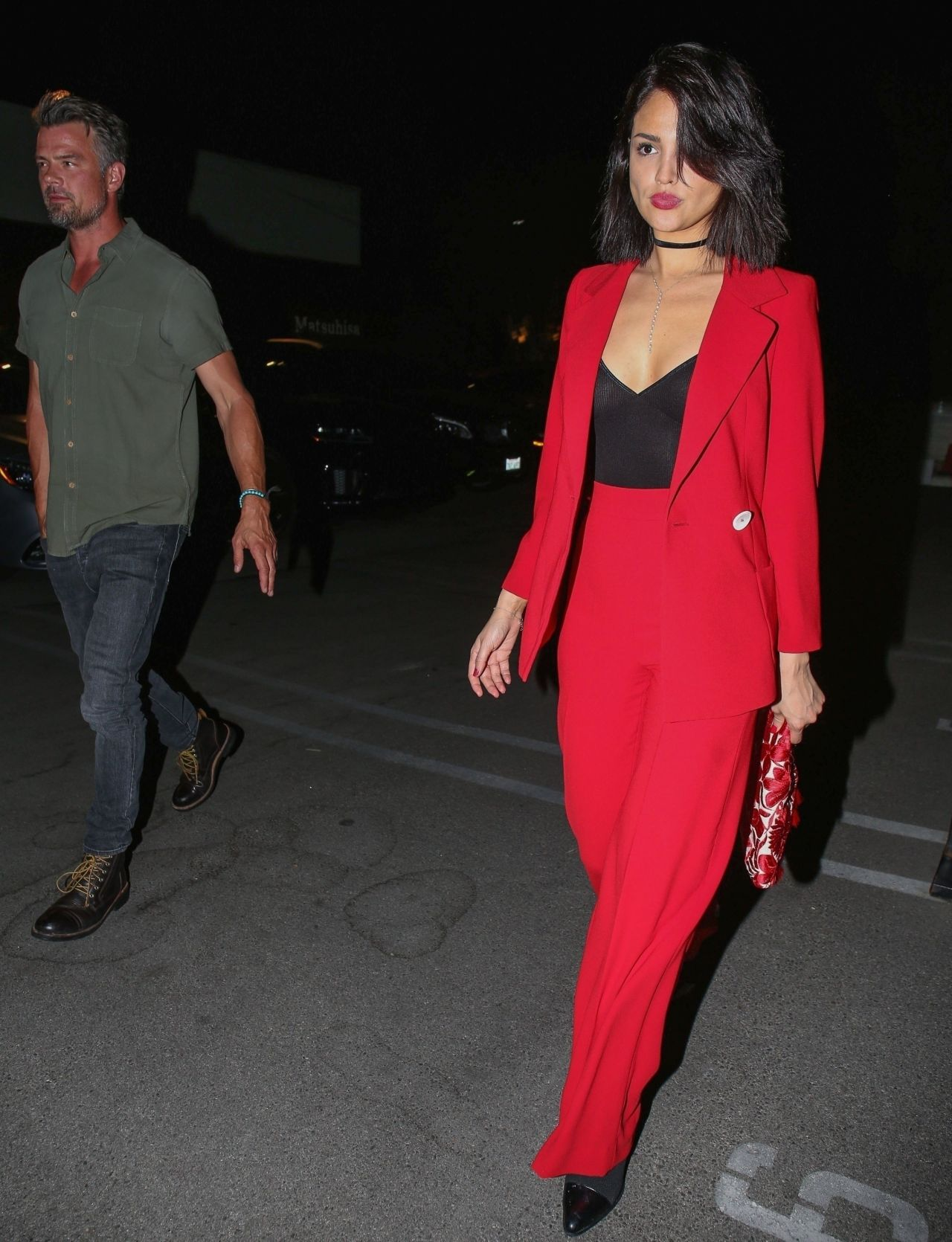 Eiza Gonzalez And Josh Duhamel Date Night For The First