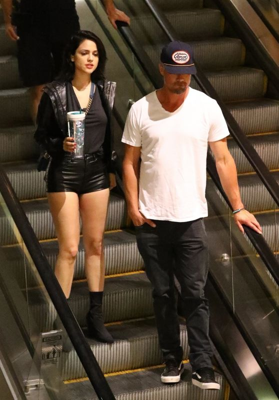 Eiza Gonzalez and Josh Duhamel - Hollywood 06/16/2018
