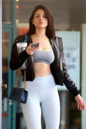 Eiza Gonzalez - Leaving a Gym After Her Workout in LA 06/15/2018