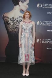 "Eleanor Tomlinson - ""Poldark"" Series Photocall at the 58th Monte Carlo TV Festival 06/18/2018"
