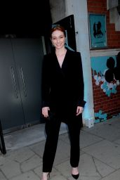 Eleanor Tomlinson - Tiffany Paper Flowers Party in London