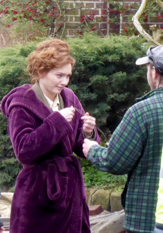"Eleanor Tomlinson - ""War of the Worlds"" Set in Cheshire 06/09/2018"