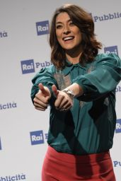 Elisa Isoardi – Presentation Palinsesti Rai in Milan 06/27/2018
