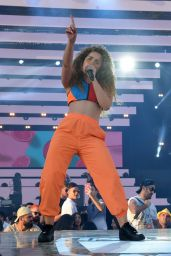 Ella Eyre – Performs at the Isle of MTV Concert in Malta 06/27/2018