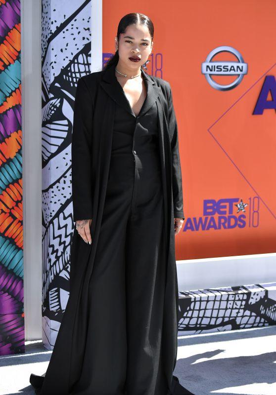 Ella Mai 2018 BET Awards In Los Angeles