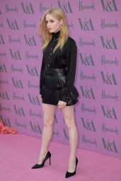 Ellie Bamber – The Victoria and Albert Museum Summer Party in London 06/20/2018
