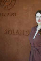 Elodie Frégé – RG Village at Roland Garros in Paris 06/07/2018