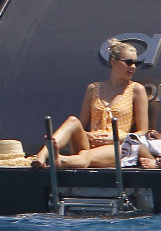 Elsa Hosk - Enjoys a Boat Day in Formentera 06/26/2018