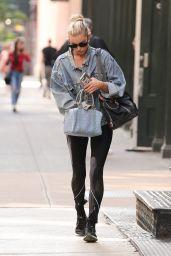 Elsa Hosk in Spandex - Walking in New York City 06/11/2018