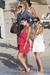 Elsa Hosk - Meeting Up With Olivia Culpo in Formentera 06/26/2018