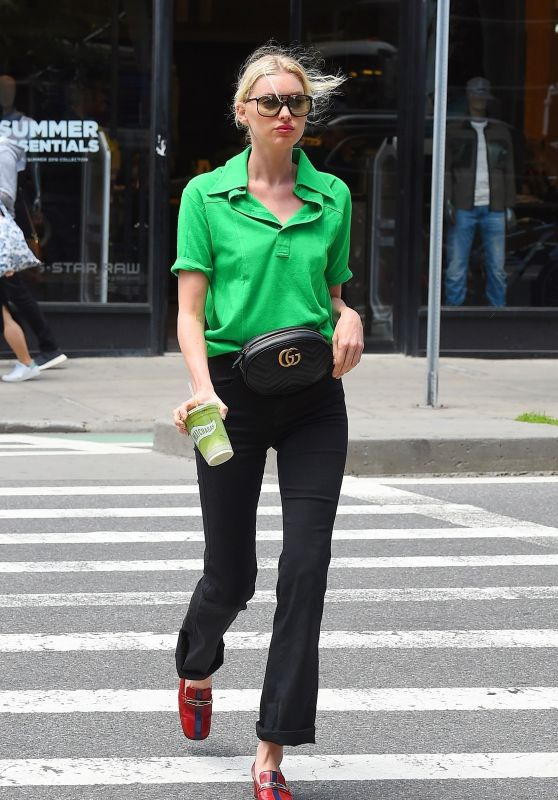 Elsa Hosk - Out in Soho, NYC 06/05/2018