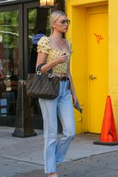 Elsa Hosk Street Fashion - NYC 06/20/2018