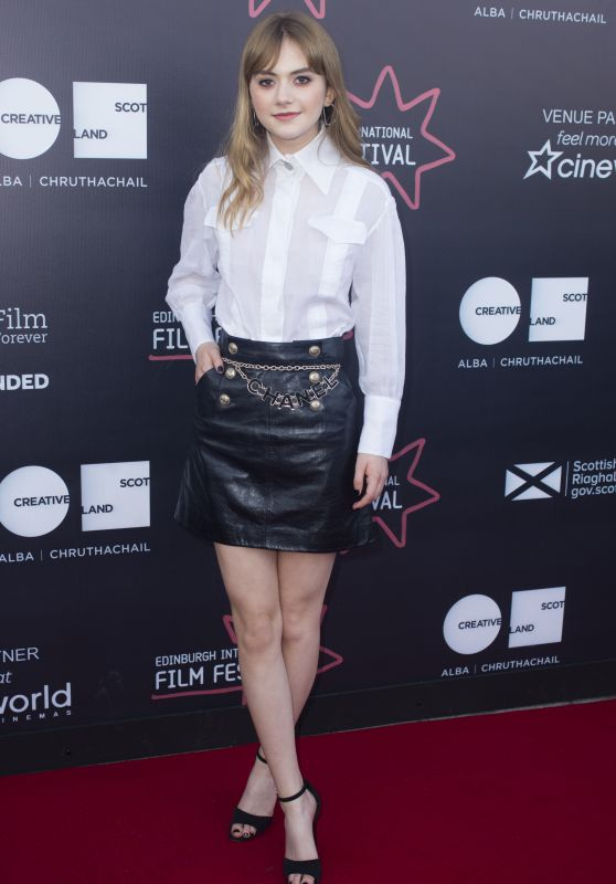 "Emilia Jones - ""Two for Joy"" Premiere at EIFF in Edinburgh"