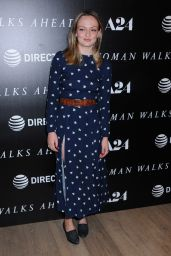 "Emily Meade - ""Woman Walks Ahead"" Special Screening in NY 06/26/2018"