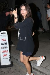 Emily Ratajkowski - Craigs Restaurant in West Hollywood 06/18/2018