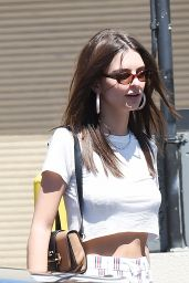 Emily Ratajkowski in Casual Outfit - Out in LA 06/13/2018