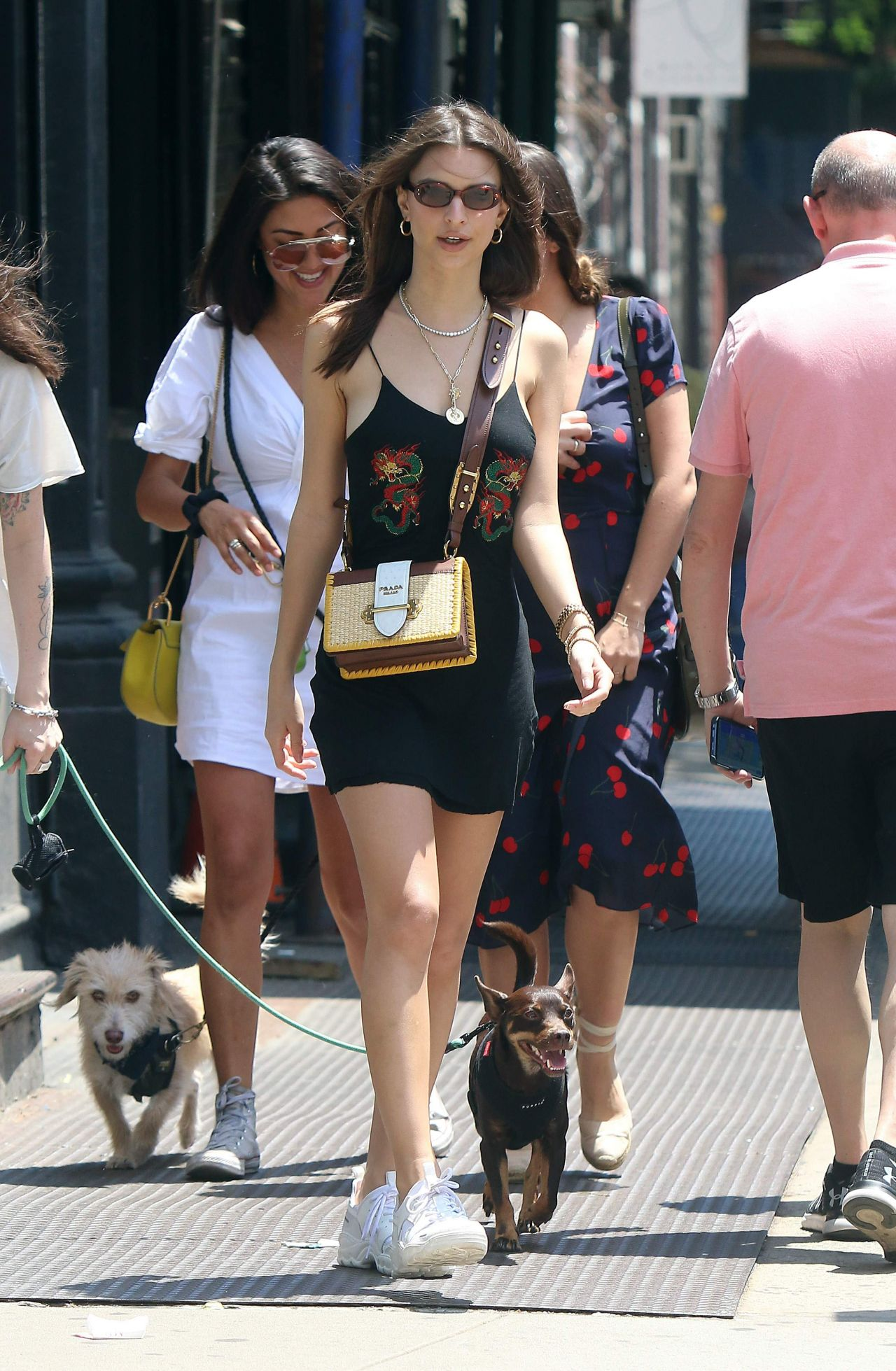 Emily Ratajkowski Summer Street Style Little Italy In