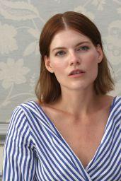 "Emma Greenwell - ""The Rook"" Press Conference Portraits in LA"