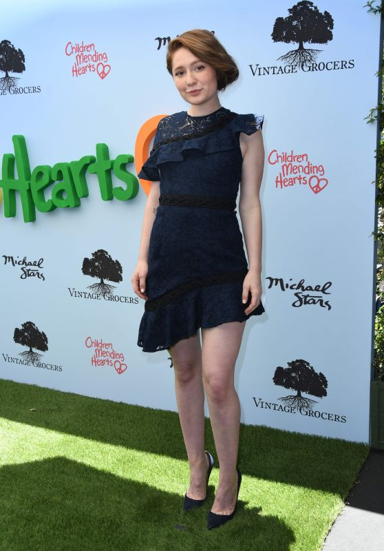 Emma Kenney - Children Mending Hearts Empathy Rocks Fundraiser in LA