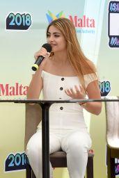 Emma Muscat – Isle of MTV Press Conference in Malta 06/27/2018