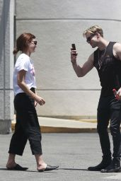 Emma Watson and Chord Overstreet - Out in Los Angeles 06/19/2018