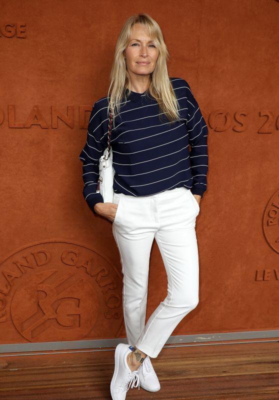 Estelle Lefebure – RG Village at Roland Garros in Paris 06/06/2018