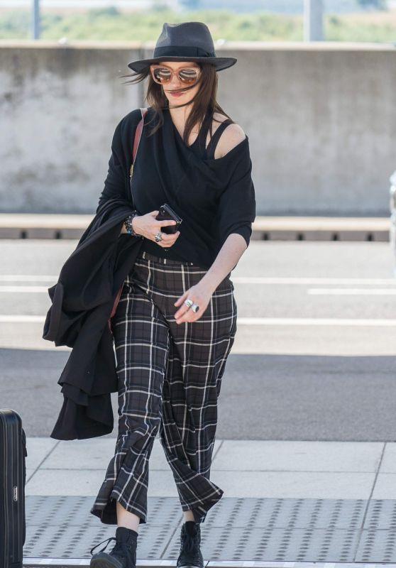 Eva Green - Heathrow Airport 06/25/2018