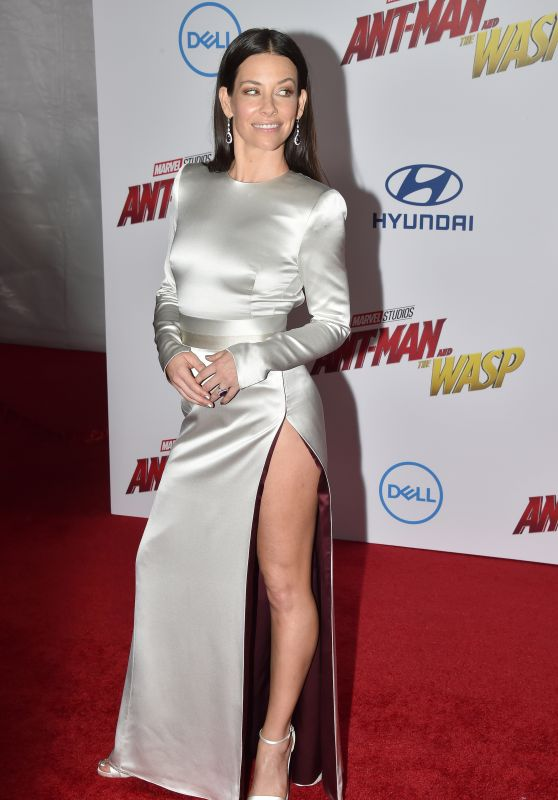 """Evangeline Lilly – """"Ant-Man and the Wasp"""" Premiere in LA"""