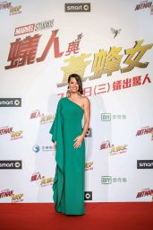 """Evangeline Lilly - """"Ant-Man and the Wasp"""" Premiere in Taipei"""