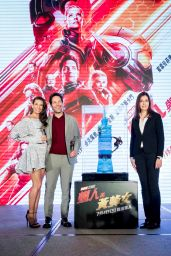 "Evangeline Lilly - ""Ant-Man and the Wasp"" Press Conference in Taipei"
