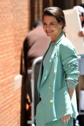 Evangeline Lilly at The View in NYC 06/21/2018