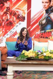 "Evangeline Lilly - ""Despierta America"" in Miami 06/27/2018"