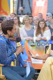 "Evangeline Lilly - ""Good Morning America"" in New York City 06/22/2018"