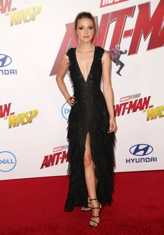 "Evelyn Leigh – ""Ant-Man and the Wasp"" Premiere in LA"