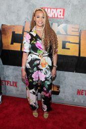 "Faith Evans – ""Luke Cage"" TV Series Premiere in New York"