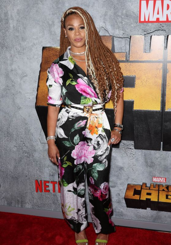 "Faith Evans – ""Luke Cage"" TV Series Premiere in New York"