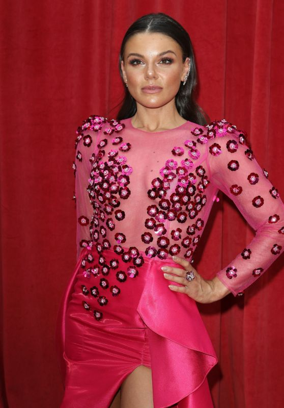 Faye Brookes – British Soap Awards 2018 in London