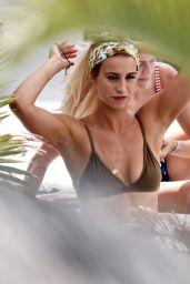 Ferne McCann in Bikini on Holiday in Marbella 06/27/2018