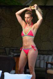 Ferne McCann in Bikini -  Poolside in Majorca 06/04/2018