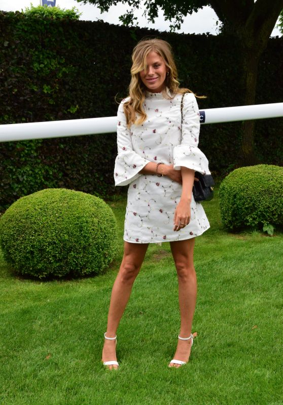 Frankie Gaff – Investec Derby Festival Ladies Day at Epsom Racecourse 06/01/2018